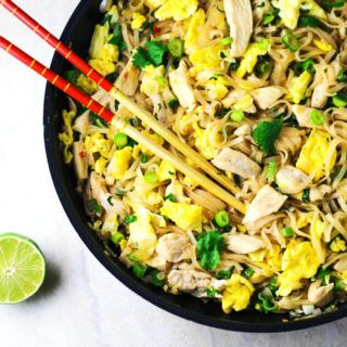Better than take out chicken pad thai recipe turkey recipes better than take out chicken pad thai thai food recipeshealthy forumfinder Choice Image