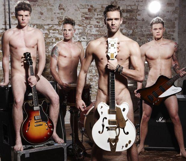 Uk Group Lawson Nude, Ryan Fletcher, Andy Brown, Joel Peat -9735