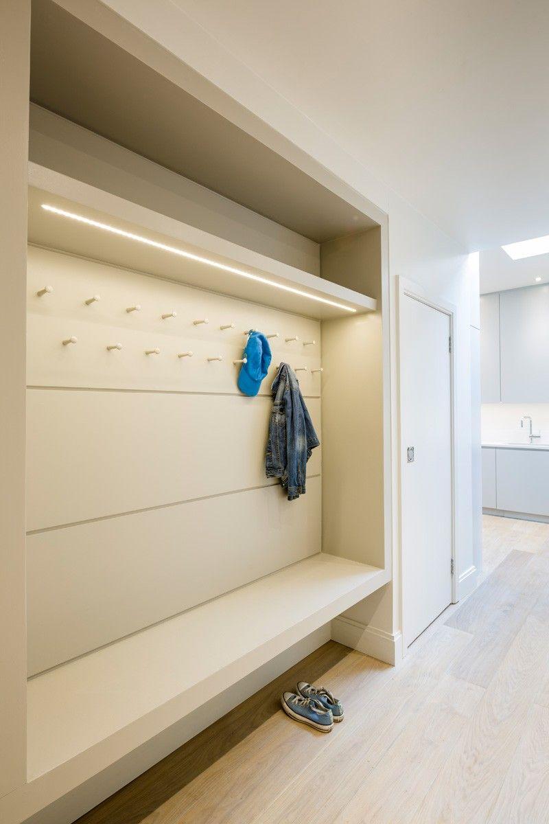 Hallway Storage In A North London Home