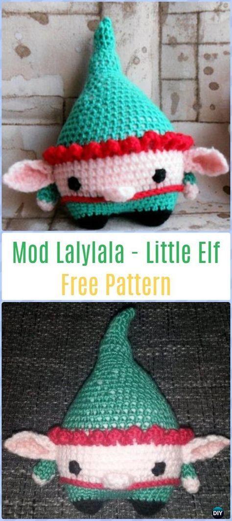Crochet Mod Lalylala - Little Elf Free Pattern - Amigurumi Crochet ...