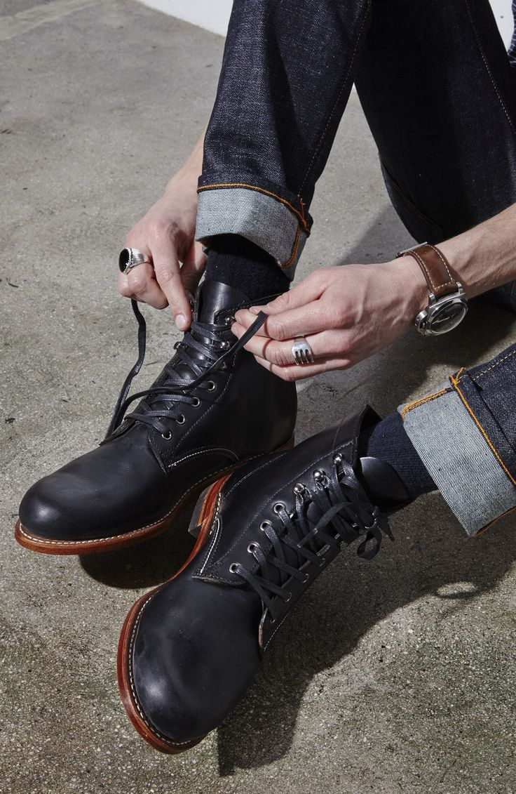 078c05af519 Wolverine: 1000 Mile Boot Black in 2019 | Men's Boots | Casual boots ...