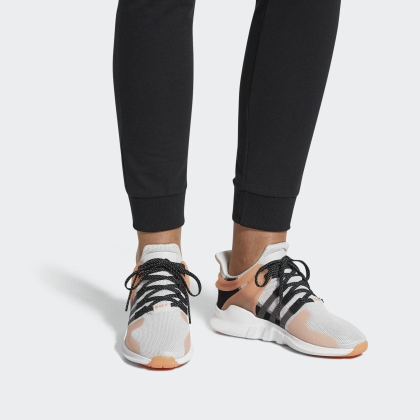 EQT Support ADV Shoes Grey One / Grey / Chalk Coral CQ2251 ...