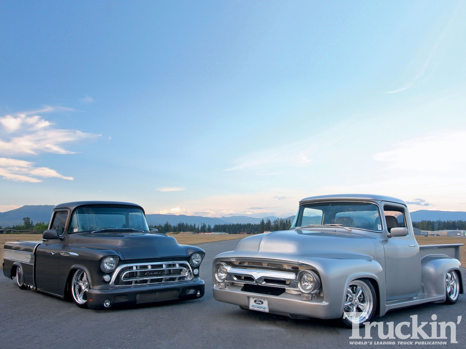 1957 chevy trucks for sale | 1956 Ford F100 1957 Chevy ...1956 Ford F100 Lifted