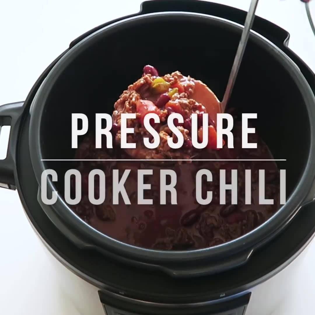 Pressure Cooker Football Chili Recipe