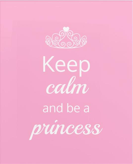 Keep Calm And Be A Princess Canvas Print Zazzle Com Princess Canvas Cute Girl Wallpaper Cute Wallpaper For Phone