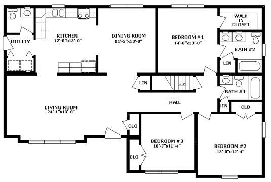 Modular House Plans With Basements House Design Ideas