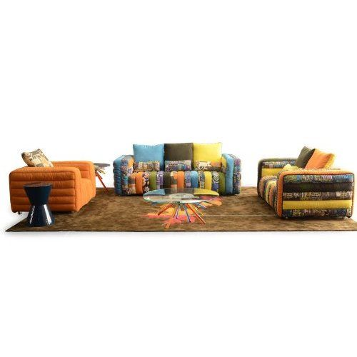 merax adjustable sofa and loveseat in colorful line fabric home furniture fold down futon sofa couch merax adjustable sofa and loveseat in colorful line fabric home      rh   pinterest