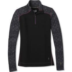 Photo of smartwool Merino 250 Baselayer Pattern 1/4 Zip camisa de mangas compridas preta M Smartwool