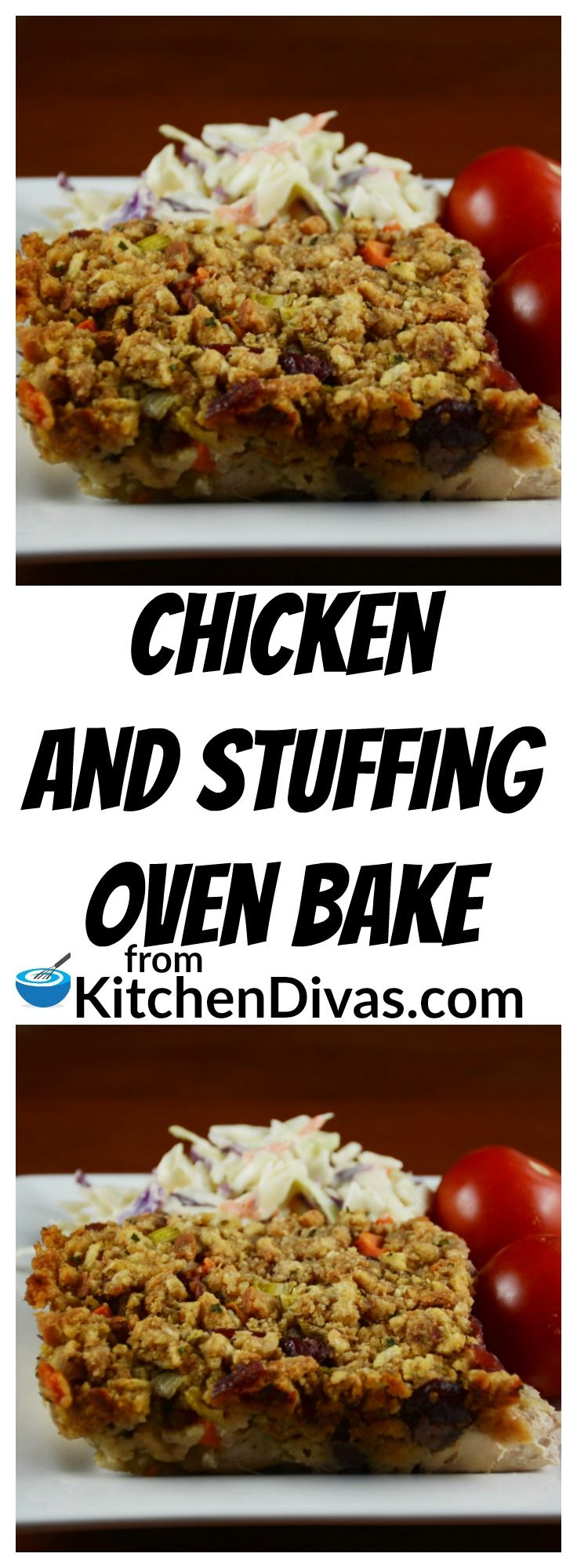 Chicken and Stuffing Oven Bake | Recipe | Stove top stuffing, Oven ...
