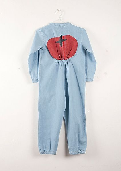 TO WEAR (Overall denim Tomato/Bobo choses)