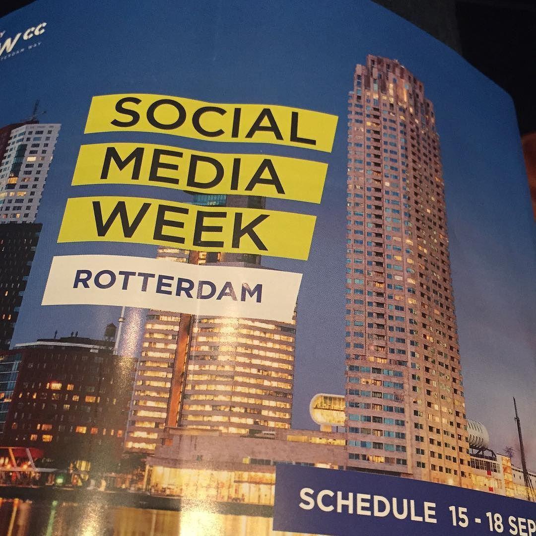 Checking in #smw15 #rotterdam by diedchev