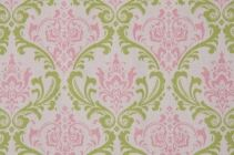 Premier Prints Madison Gate Drapery Fabric in Baby Pink Closeout