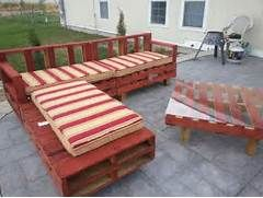 pallet patio furniture decor. Wood Pallet Patio Furniture Plans   Recycled Things Decor E