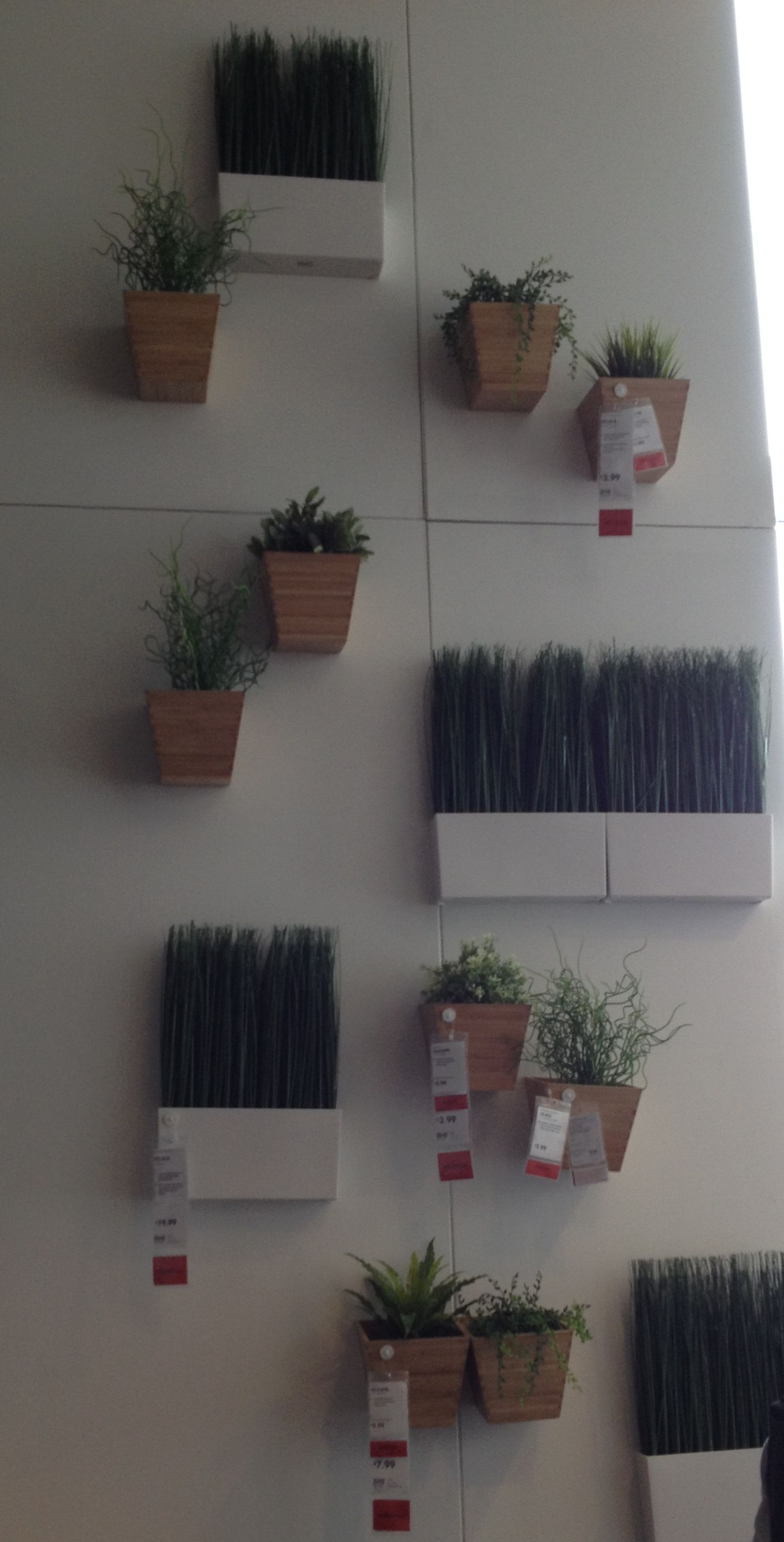 Wall Planters Ikea Ikea Wall Planters Apartment Plant Solutions Pinterest