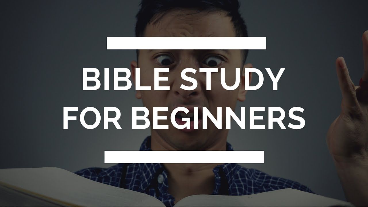 How to study the bible for beginners 5 tips for