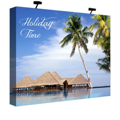 fabric trade sour panel plus tabletop display is lightweight stack able and easy to set up constructed from stron trade show display tradeshow booth display