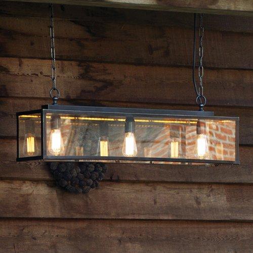 Photo of Williston Forge beam pendant light Eleni | Wayfair.de