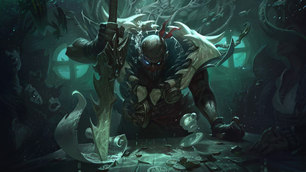 Classic Pyke Splash Art 4k Hd Wallpaper Background Official