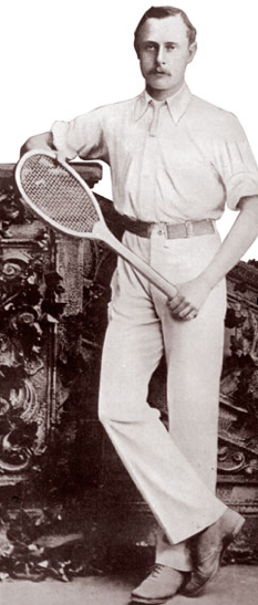 This Shot Inspired Our Revival Of Vintage Tennis Kit We Love The Mix Of Formal Tailoring With Casual Fabrics Vintage Tennis British Sports Rowing