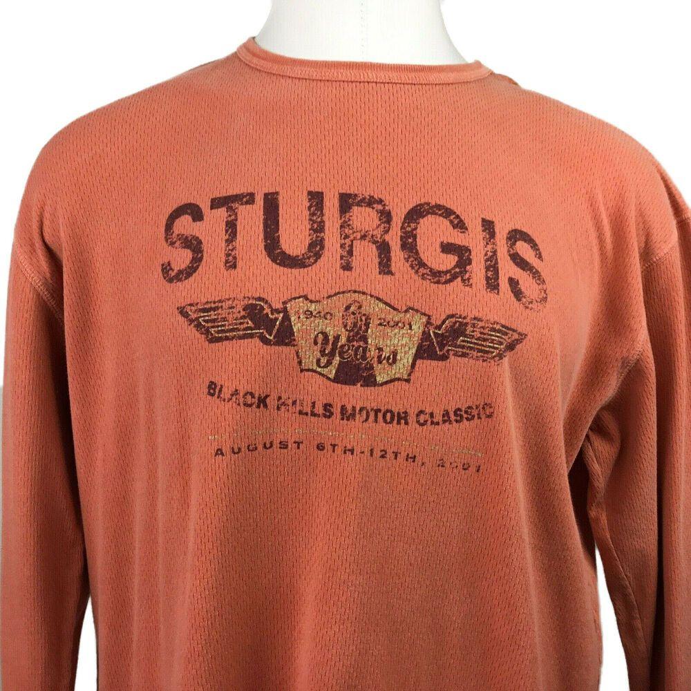 2001 Mens Sturgis South Dakota Shirt Black Hills Motorcycle Rally Distressed Xl Lakeshirts South Dakota Shirt Casual Shirts For Men Black Shirt [ 1000 x 1000 Pixel ]