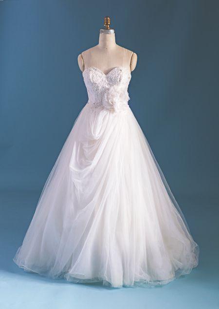 Sleeping Beauty inspired wedding dress from 2015 Disney\'s Fairy Tale ...