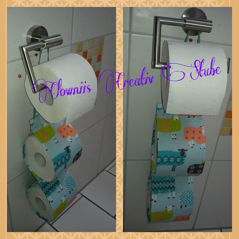 halter f r toilettenpapier clowniis creativ stube hand made pinterest. Black Bedroom Furniture Sets. Home Design Ideas