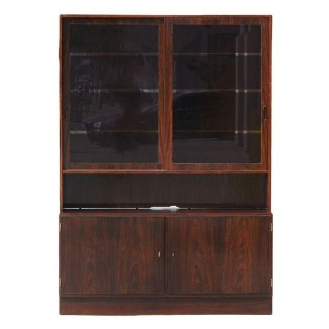 Image Of Poul Hundevad Danish Teak Buffet With Hutch