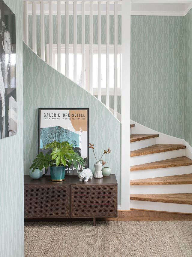 Papier peint chambre, cuisine  des modèles tendance pour chaque - centrale d aspiration pour maison