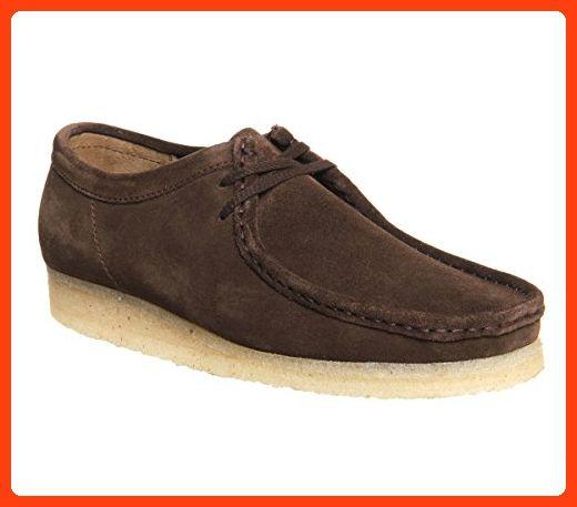 Clarks , Herren Sneaker Braun Dark Brown Suede (*Partner