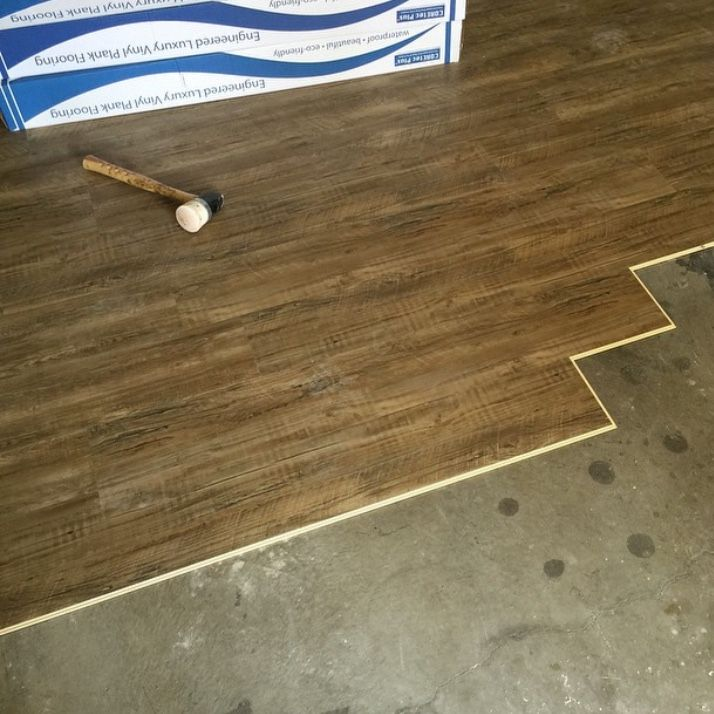 Coretec Plus Installation Engineered Luxury Vinyl Plank Flooring