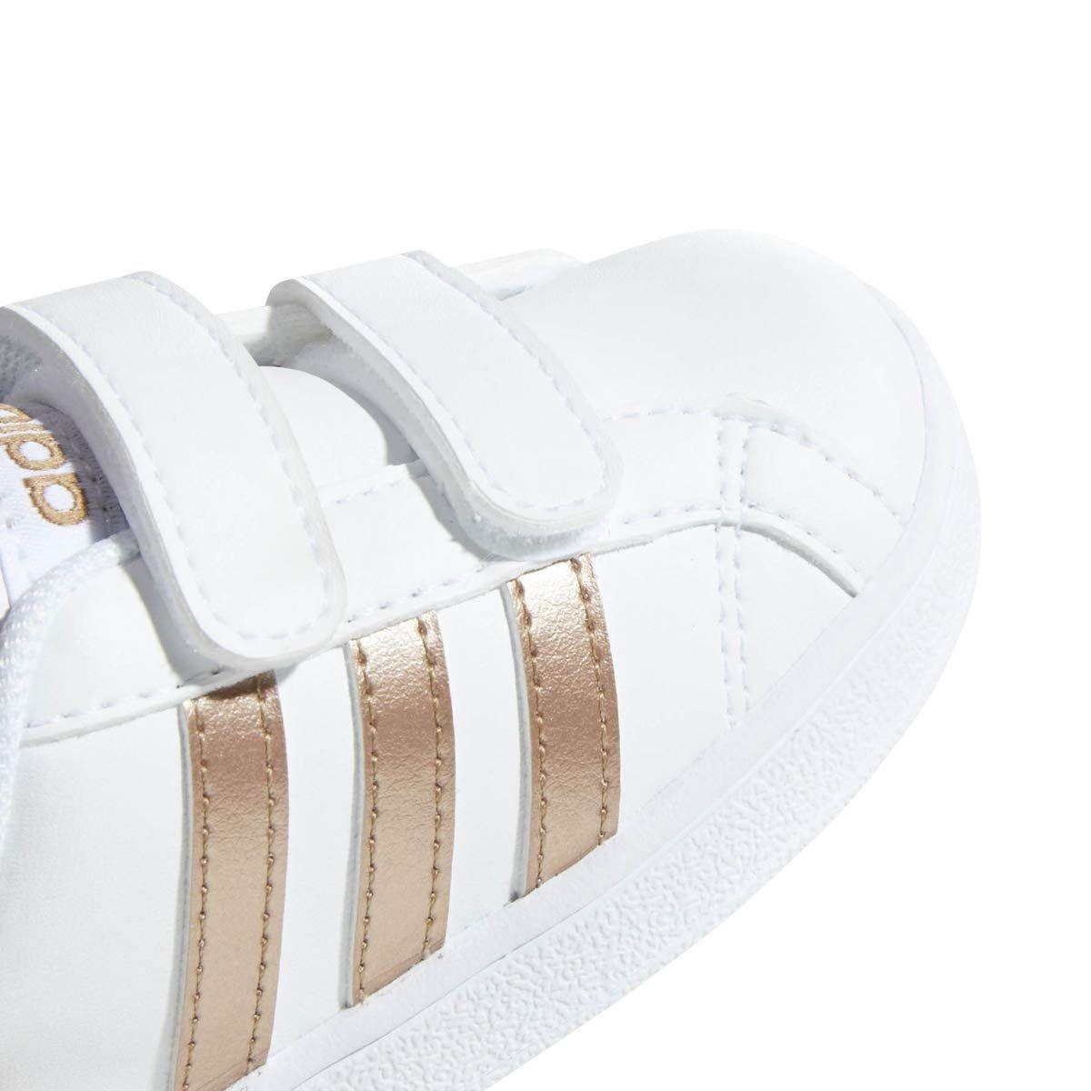 ec7821d702 adidas Performance Baby Baseline White/Copper Metallic/Black 6K M US ...