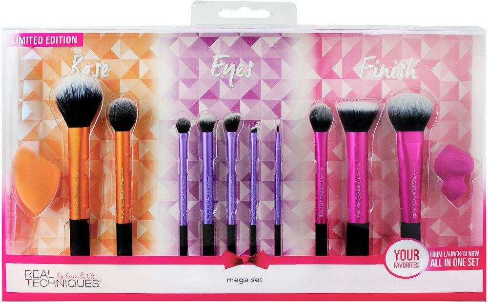Mega Set Real Techniques Makeup Brushes Makeup Brushes Real
