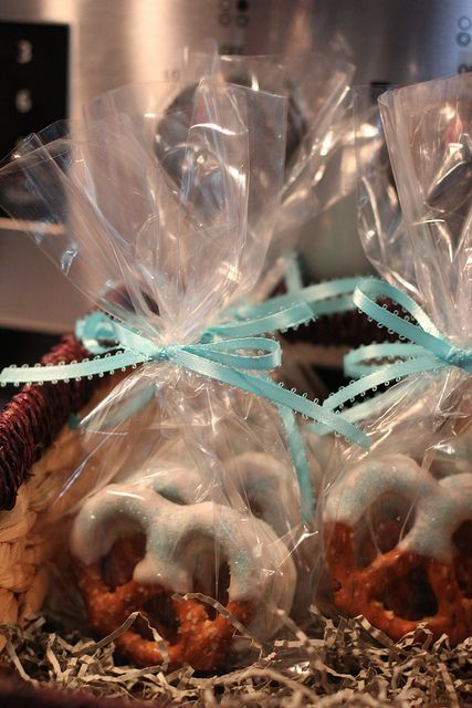 Hand Dipped Pretzels: The Perfect Favor or Gift