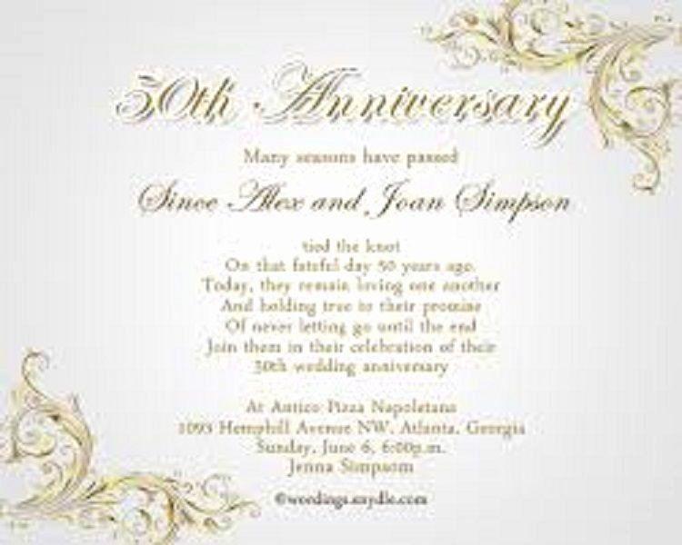 50th Anniversary Invitations Templates Luxury Wedding Anniver In 2020 50th Wedding Anniversary Invitations 50th Anniversary Invitations Wedding Anniversary Invitations