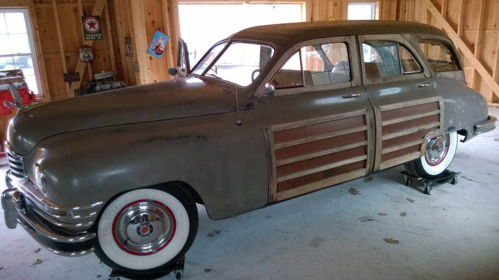'48 Packard Woody Station Sedan Series 22  Model N°2293