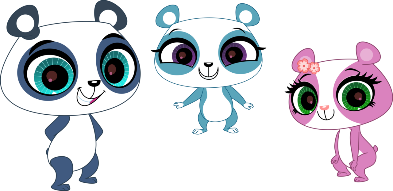 Pandas By Fercho262deviantartcom On At Deviantart Littlest Pet