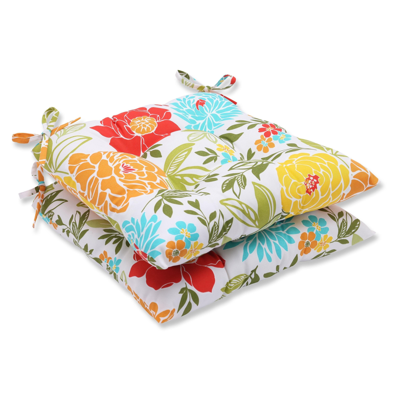 Spring bling multi wrought iron seat cushion set of barn loft