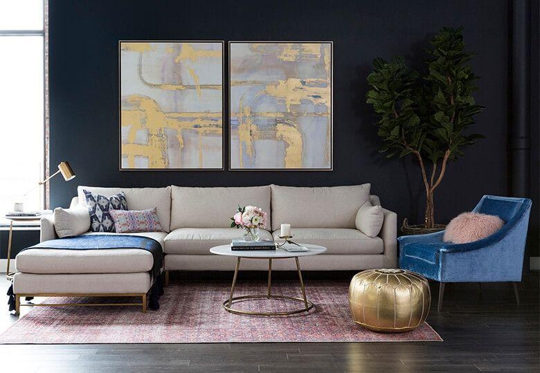 Pin By Decomoderne On Cuisine Moderne Modern Houses Interior Luxury Living Room Living Decor