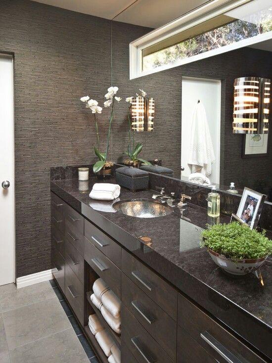 I love bathrooms | Masculine bathroom decor, Mens bathroom ...