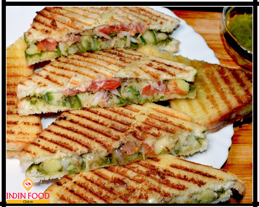 Grilled Cheese Sandwich Vegetable Sandwich Recipes Sandwich Recipes Indian Sandwich Recipe Veg