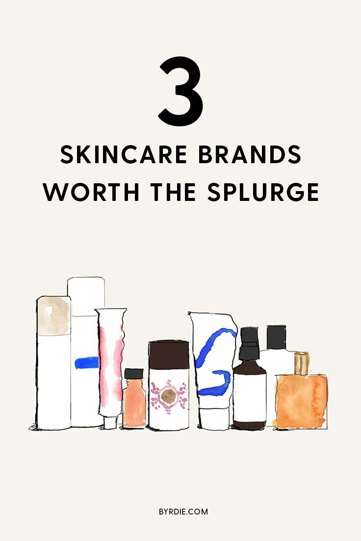The Only 3 Skincare Brands Worth Buying, According to a Top Dermatologist
