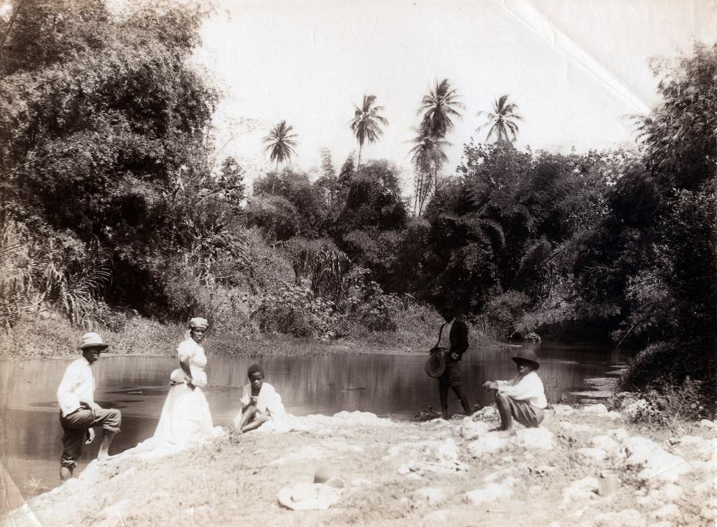Jamaica Blue Mountains On The Road 1928 | Jamaica history