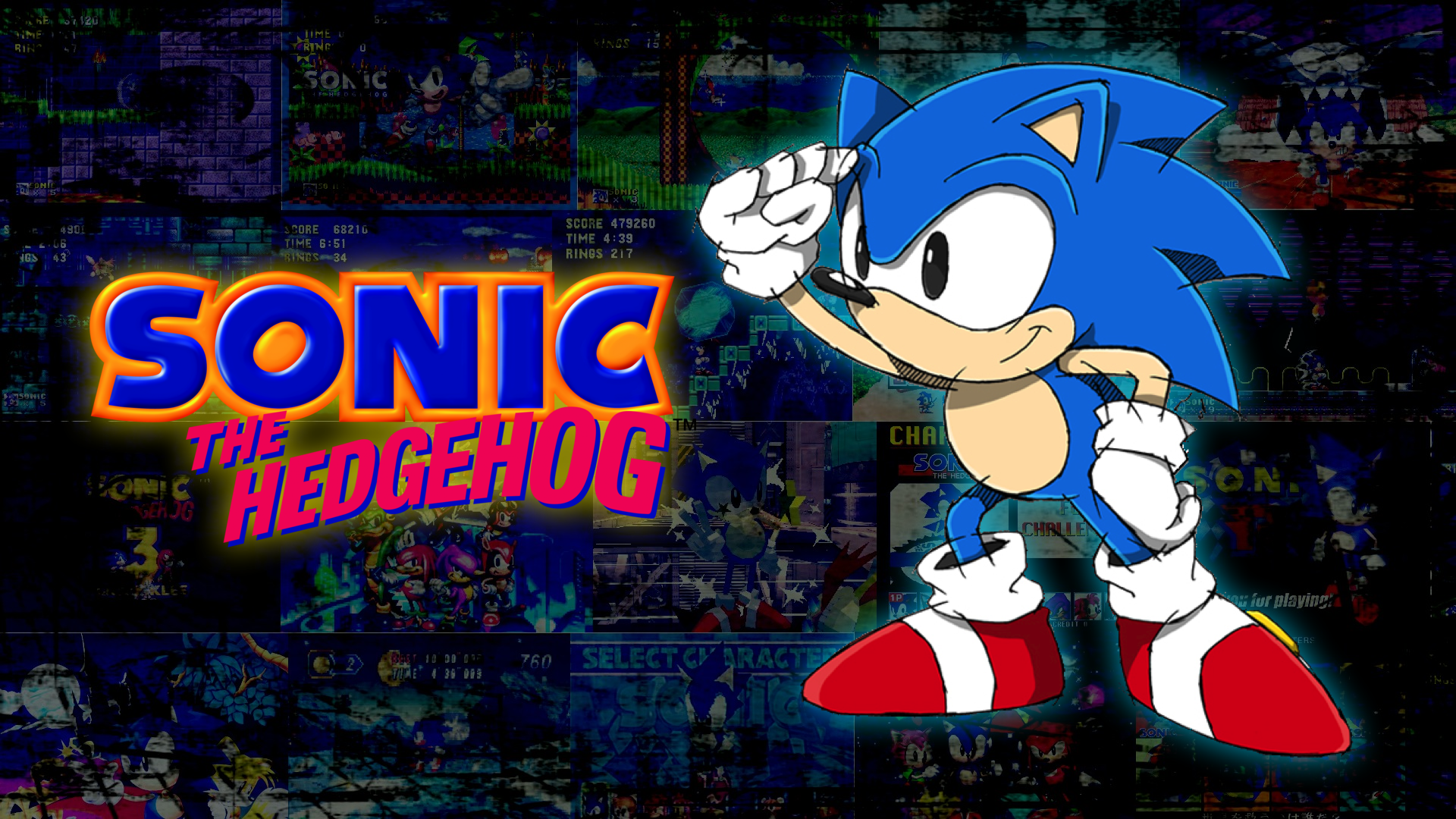 Classic Sonic Wallpaper Backgrounds Download