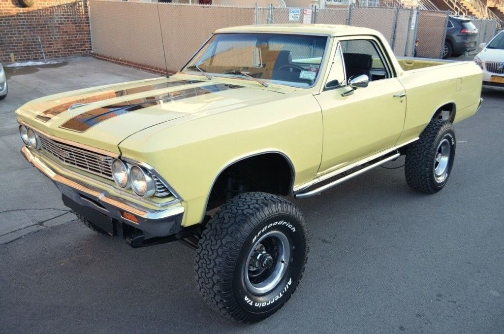 1966 Chevrolet El Camino 4 4 Lifted Monster Truck For Sale