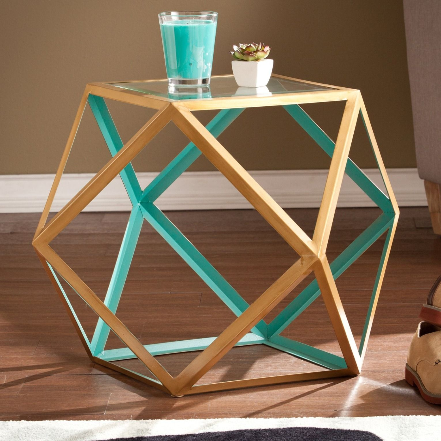 Best Geometric Accent Table Accent Table Geometric Furniture 400 x 300