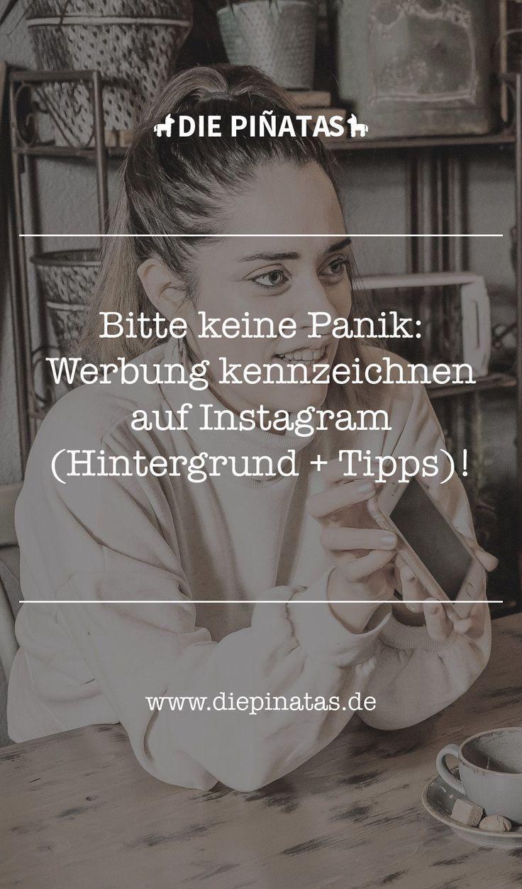 Bitte keine Panik: Werbung kennzeichnen auf Instagram ...