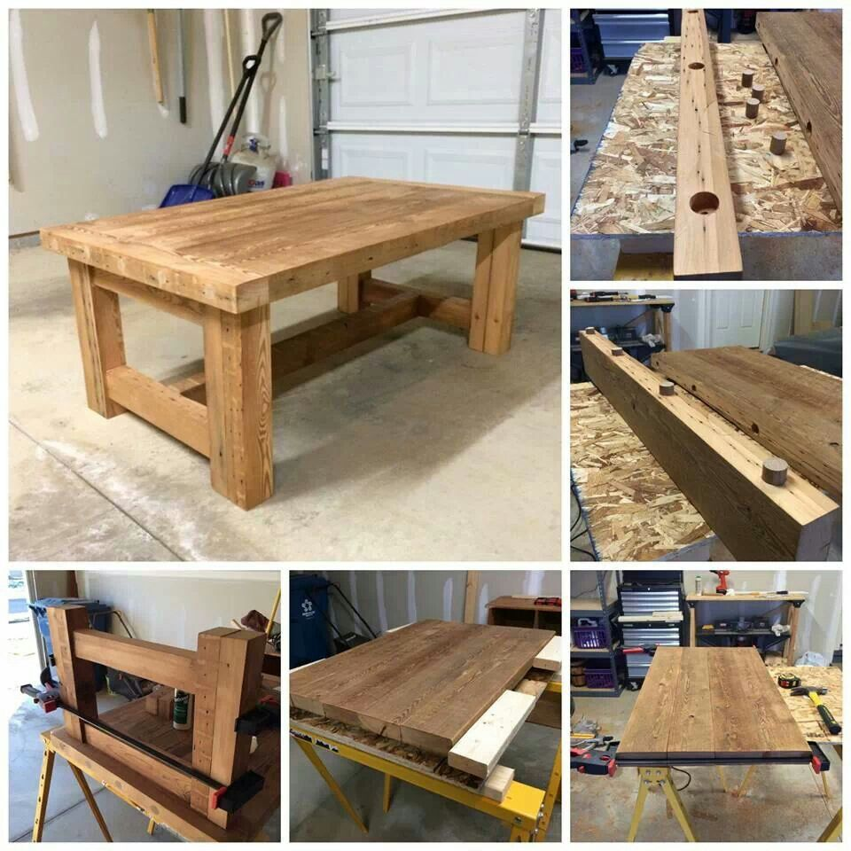 Sturdy table Diy coffee table plans, Coffee table plans
