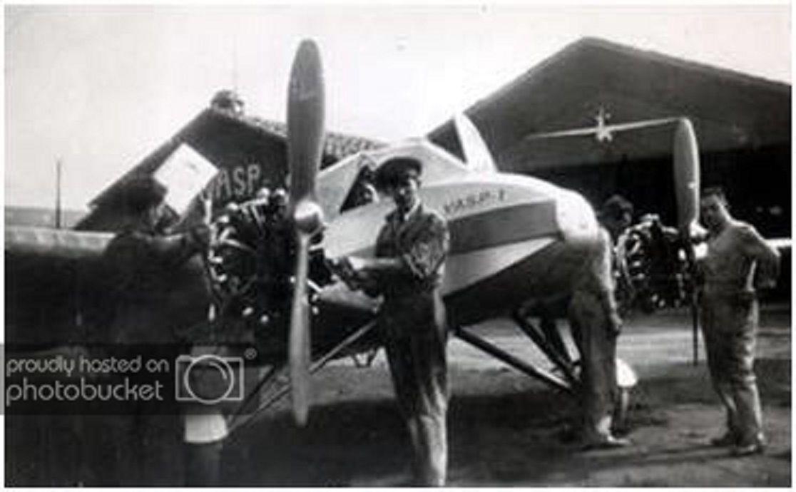 O Monospar Foi O Primeiro Aviao Da Vasp Dois Deles Ja Haviam Sido