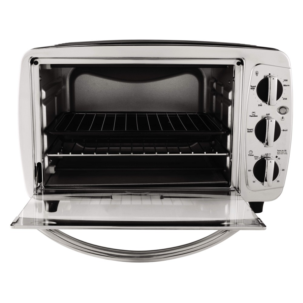 Oster Toaster Oven Stainless Steel Silver Tssttv0001