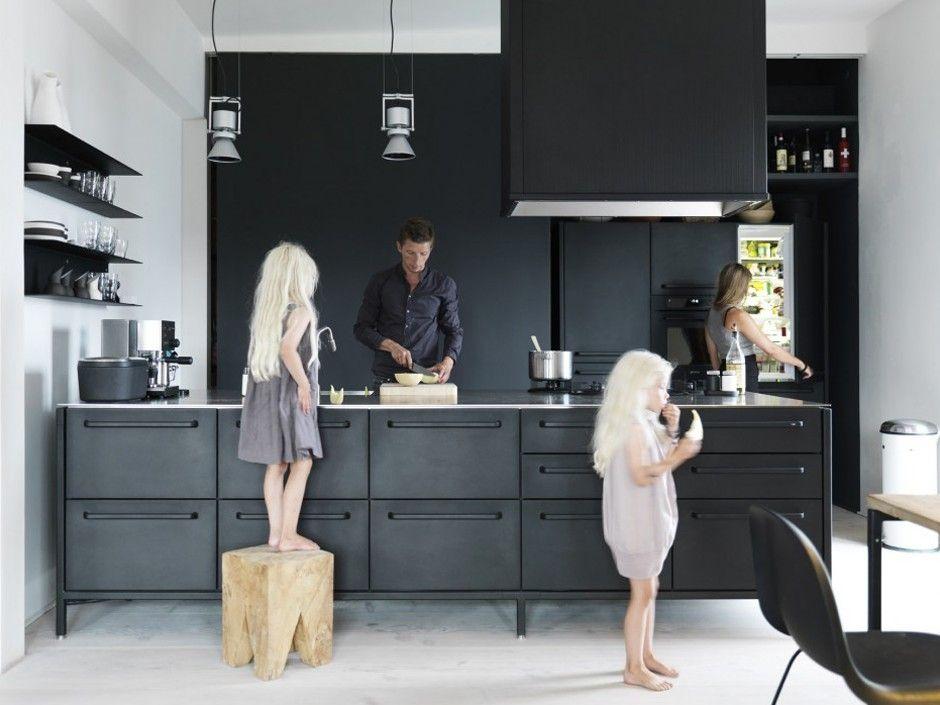 Keuken Zwart Stoere : Keuken tweedehands best stoere keuken wood het beste van huis